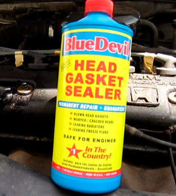 Review of BlueDevil Products Head Gasket Sealer Permanent repair