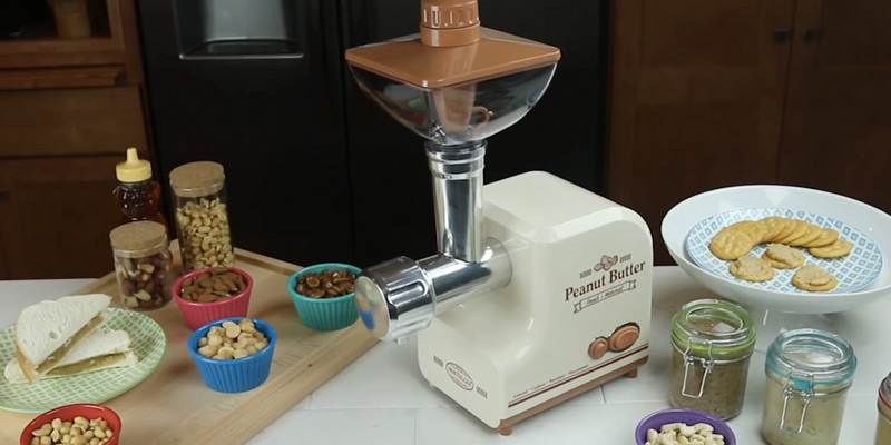 Review of Nostalgia PBM500 Professional Peanut Butter & Nut Butter Maker