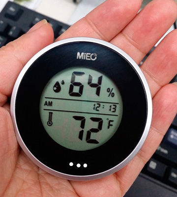 Review of MIEO HH654 Round Digital Hygrometer for Humidor