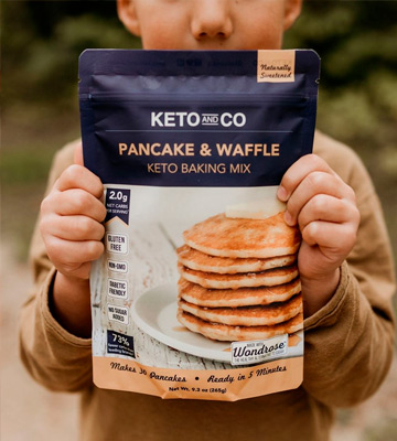 Review of Keto and Co QUICK & EASY Pancake & Waffle Mix