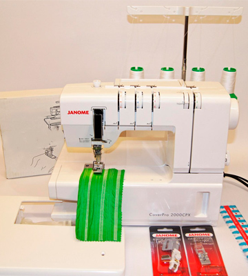 Review of Janome CoverPro 1000CPX Coverstitch Machine