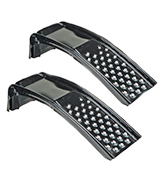 Nicky Nice 612944 Set of 2 Solid Steel Auto Ramps (6,500lb. GVW Capacity)