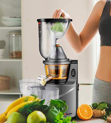 Review of Mueller Austria MU-SLWJUICER Juicer Machine Extractor with Slow Cold Press