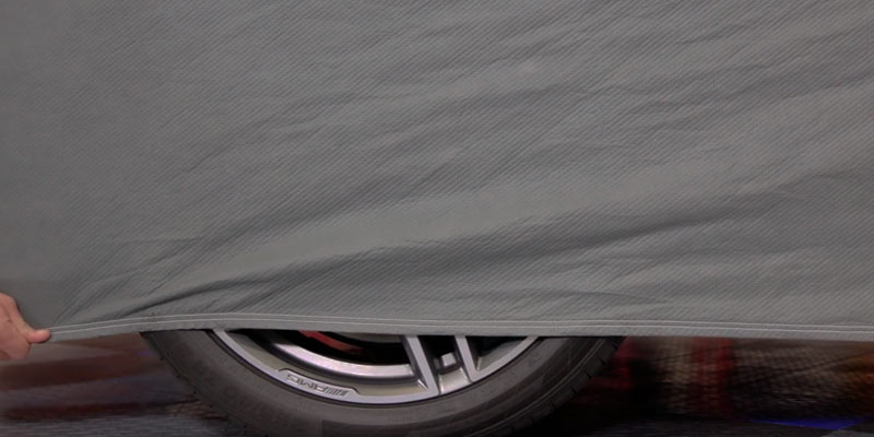BDK Universal Fit Cover for Car Sedan in the use