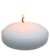 Royal Imports FCAND-WH-3-24 Floating Candles Unscented Discs for Wedding