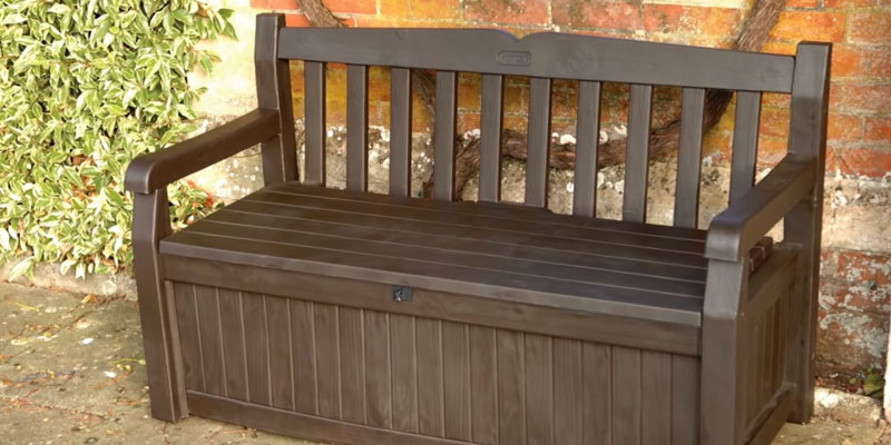 Review of Keter Outdoor Patio Storage Garden Bench