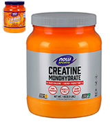 NOW Sports 2.2 Pound Creatine Monohydrate Powder