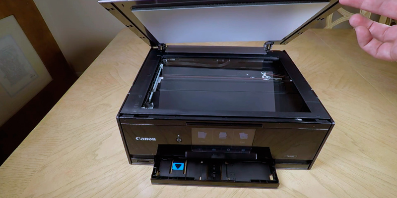 Canon Pixma TS9120 Wireless All-In-One Printer in the use