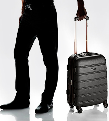 Review of Rockland Melbourne Carry On Luggage