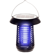 GreenLighting Solar Powered UV LED Bug Zapper & Lantern
