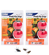 Woodstream [4 Pack] Terro Fruit Fly Trap