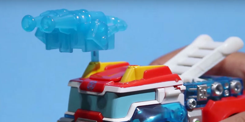 Playskool Heroes Rescue Bots Transformers in the use