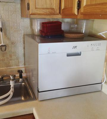 Review of Sunpentown Countertop Dishwasher, Silver