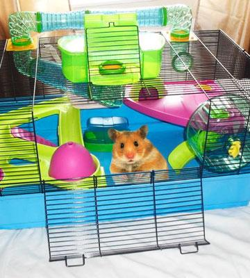 Review of Lixit Animal Care Savic Hamster Heaven Cage