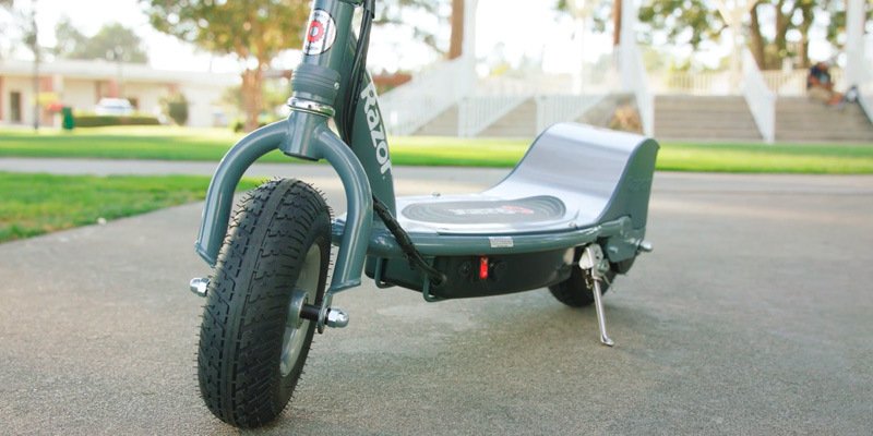 Razor E300 Electric Scooter in the use