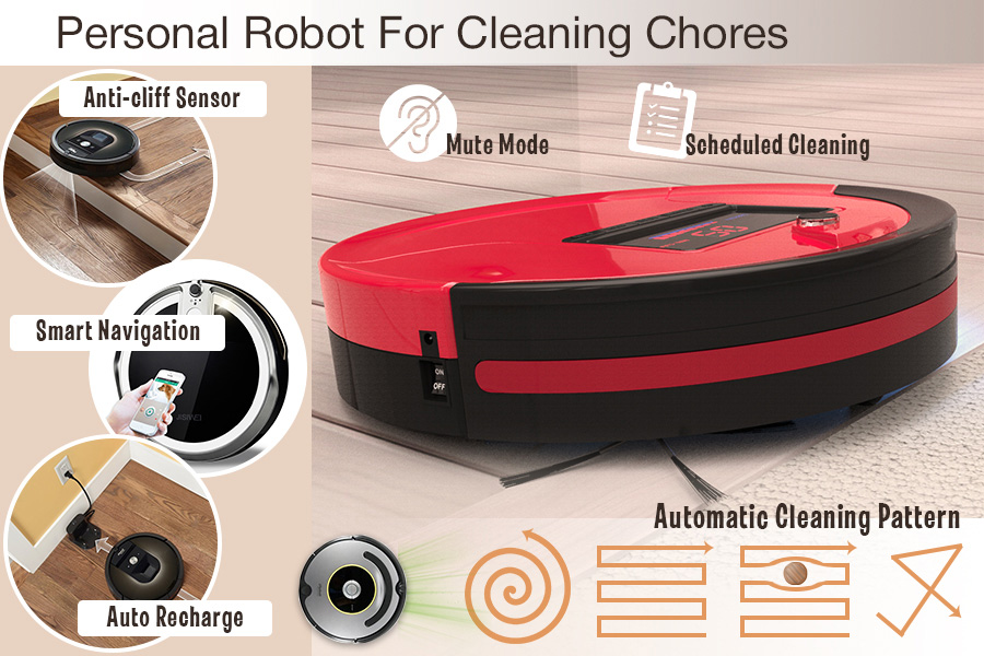 Comparison of Robotic Vacuums