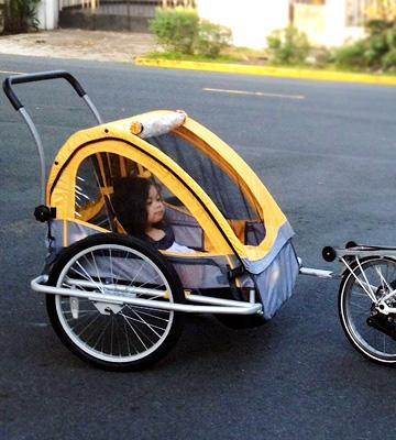 Review of Pacific Cycle InStep Quick Double Bicycle Trailer