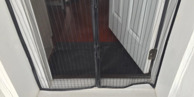 "Review of iGotTech SO-03-103 34""x82"", Magnetic Screen Door, Full Frame Velcro"