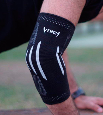 Review of Venom Sports Fitness Elbow Brace Compression Sleeve Tennis Elbow