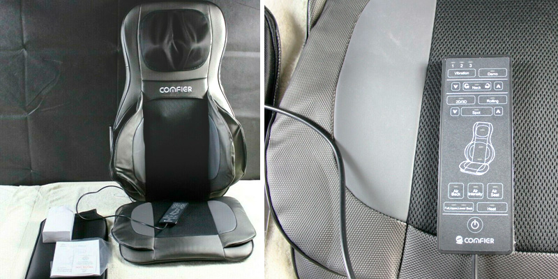 Review of COMFIER CF-2309A Shiatsu Neck & Back Massage Chair Pad