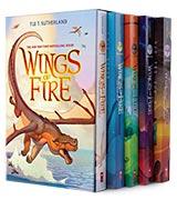 Tui T. Sutherland Wings of Fire Boxset