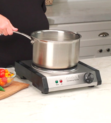 Review of Cuisinart CB-30 Cast-Iron Single Burner