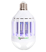 ZappLight Bug Zapper Bulb LED 60W by BulbHead Insect and Mosquito Zapper
