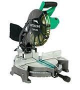 Hitachi C10FCE2 10'' Single Bevel Compound Miter Saw