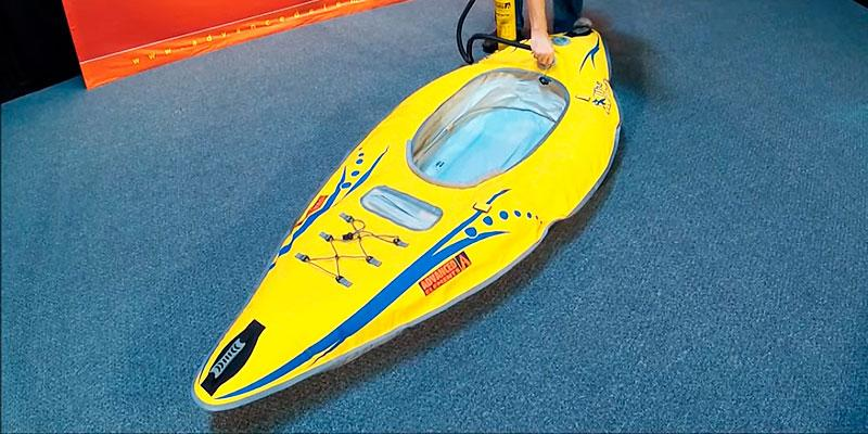 Detailed review of Advanced Elements AE1020-Y Inflatable Kayak