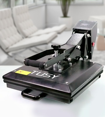 Review of TUSY Digital Heat Heat Press Machine for T Shirts