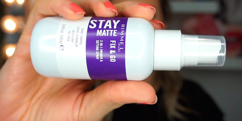 Review of Rimmel Stay Matte Fix & Go 2-in-1 Primer & Setting Spray, Transparent