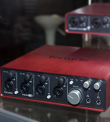 Review of Focusrite Scarlett 18i8 Audio Interface with Four Focusrite Mic Preamps