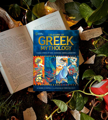 Review of Donna Jo Napoli Illustrated Treasury of Greek Mythology: Classic Stories of Gods, Goddesses, Heroes & Monsters