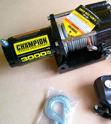 Review of Champion 13004 ATV/UTV Winch Kit
