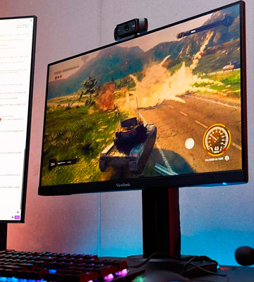 Review of ViewSonic (XG2705) 27-Inch 1080p Frameless IPS Gaming Monitor (1ms, 144Hz)