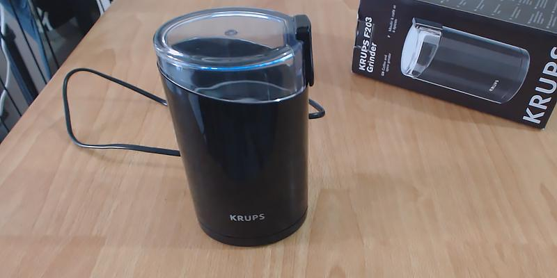 Review of KRUPS F203 Electric Spice and Coffee Grinder