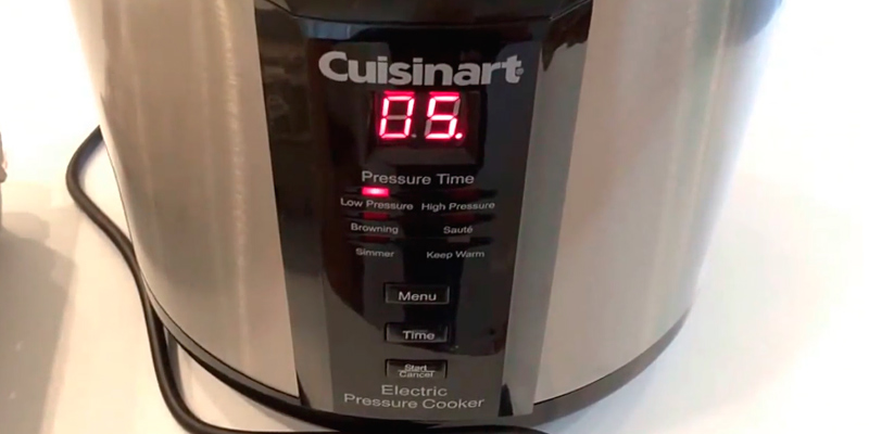 Cuisinart CPC-600AMZ Electric Pressure Cooker application