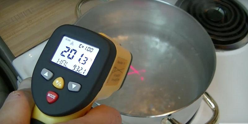 Review of Avantek TG-3Y Dual Laser Infrared Thermometer