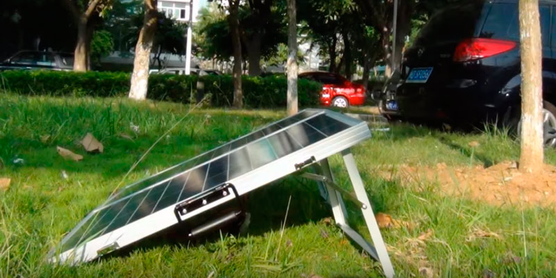 Review of ECO-WORTHY Portable Folding Polycrystalline PV Solar Panel