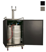 EdgeStar KC7000SSTWIN Full Size Dual Tap Tower Kegerator