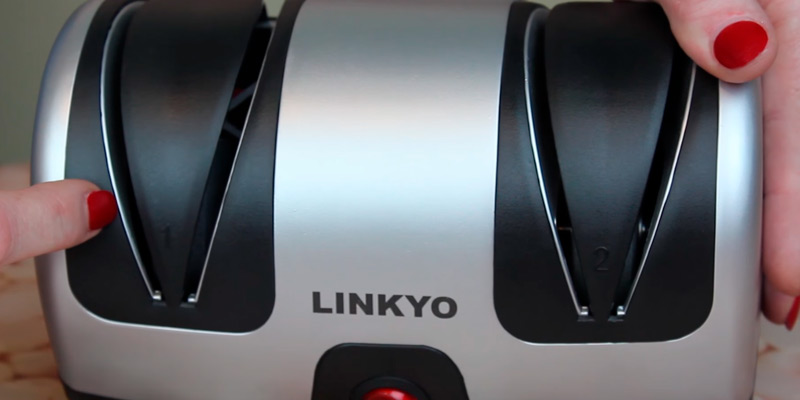 Detailed review of LINKYO LY-KE2SSA1 Electric Knife Sharpener