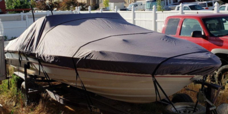 Review of Classic Accessories StormPro Heavy-Duty Boat Cover With Support Pole