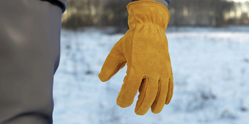 Review of OZERO Cold Proof Leather Winter Work Glove
