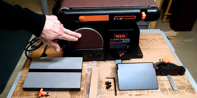 Detailed review of WEN 6502 Belt and Disc Sander