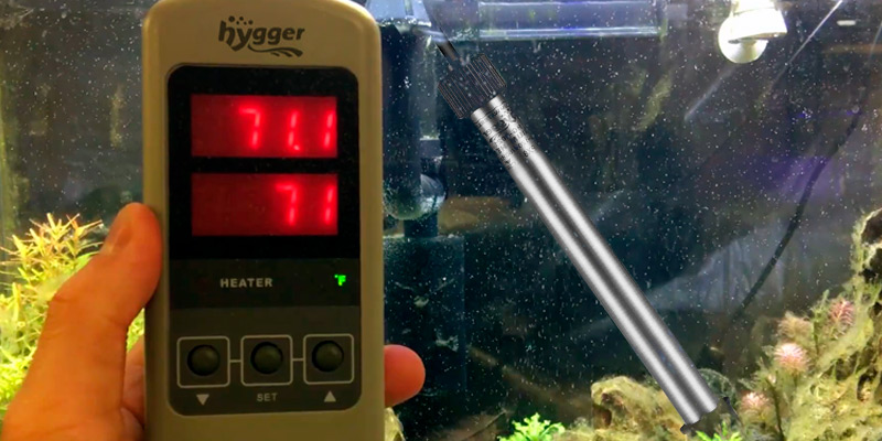 Review of Hygger Saltwater Tank Titanium Tube Submersible Pinpoint Aquarium Heater