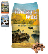 Taste of the Wild High Prairie Grain Free High Protein Natural Dry Dog Food