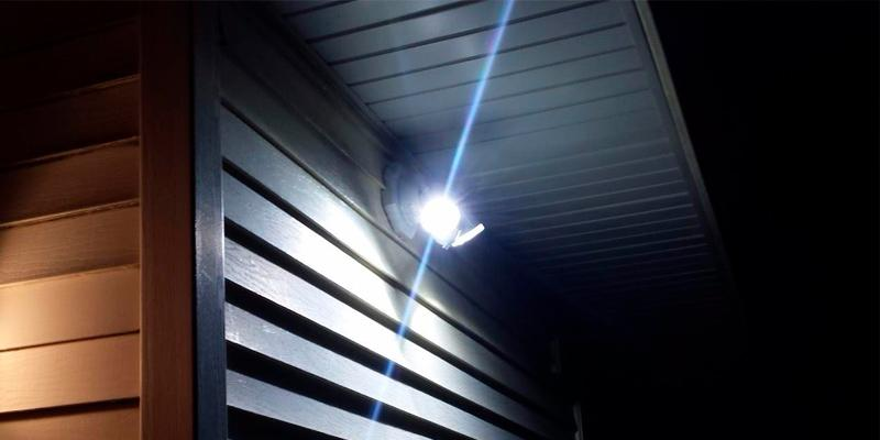 Detailed review of Home Zone 64321 LED Motion Floodlight