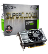 EVGA GTX 1050 Ti SC GAMING 4GB GDDR5, DX12 OSD Support (PXOC) Graphics Card