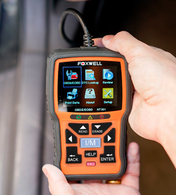 Review of FOXWELL NT301 OBD2 Scanner