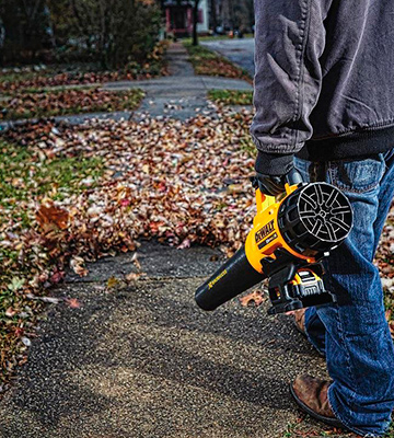 Review of DEWALT DCBL720P1 20V MAX 5.0 Ah Lithium Ion XR Brushless Blower